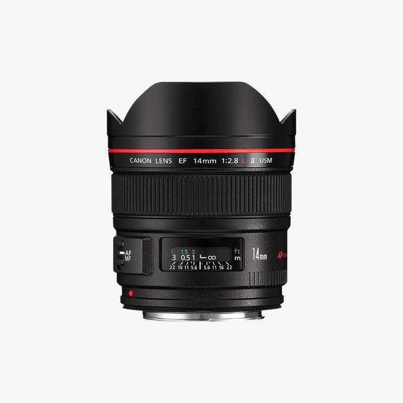Canon EF 14mm f 2.8L II USM