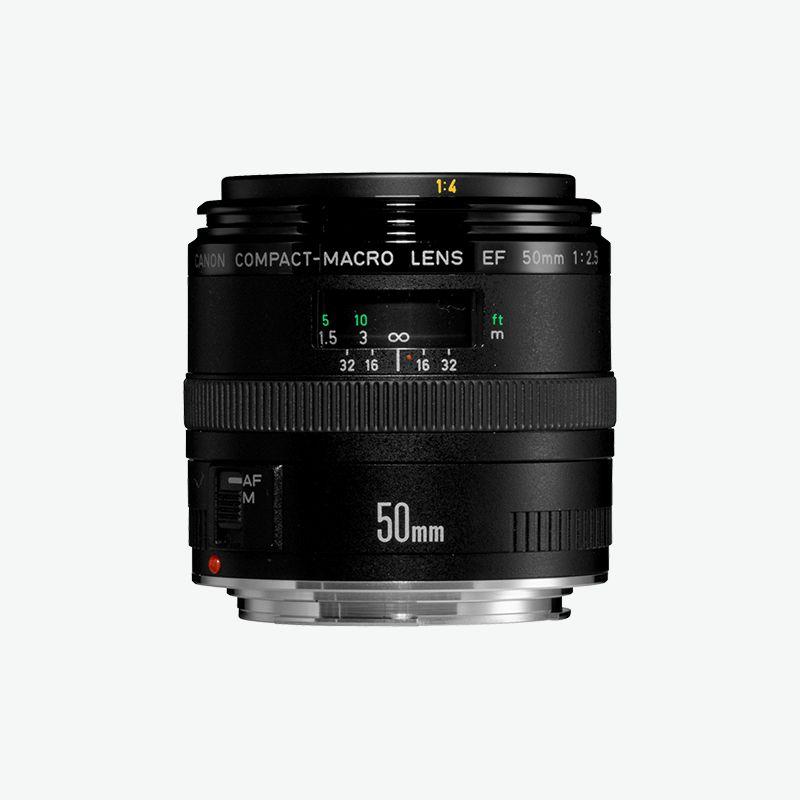 Canon EF 50mm f 2.5 Compact Macro