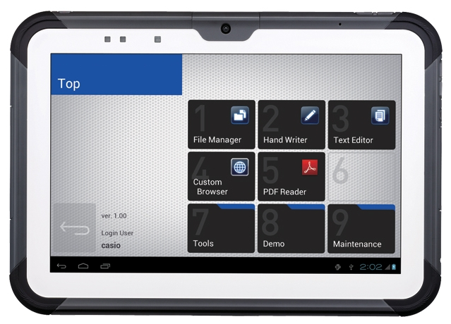 планшетов Casio