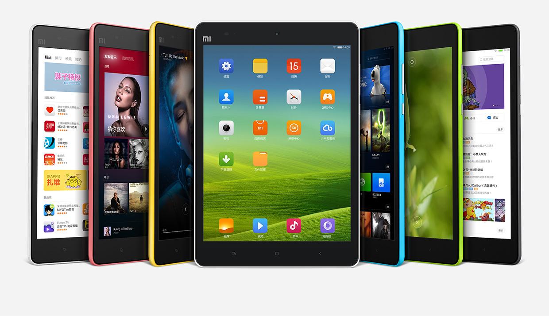 планшеты Xiaomi