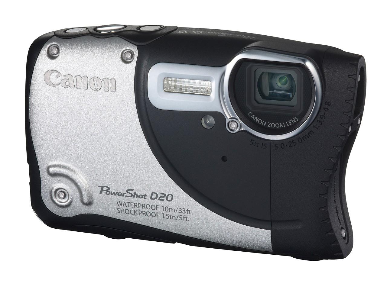 Canon PowerShot D20