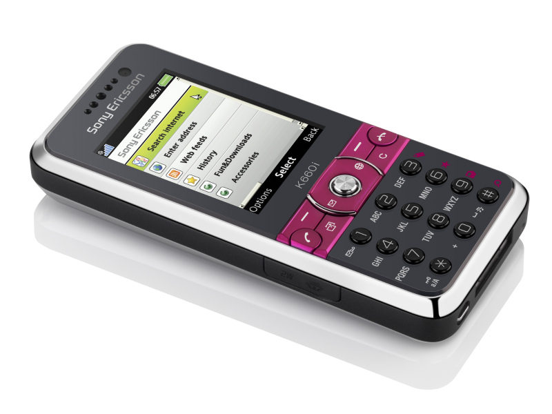 Sony Ericsson Xperia K660i