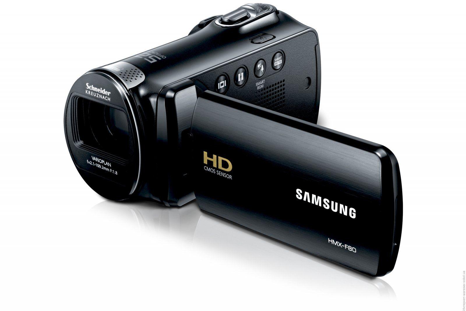 видеокамеры Samsung