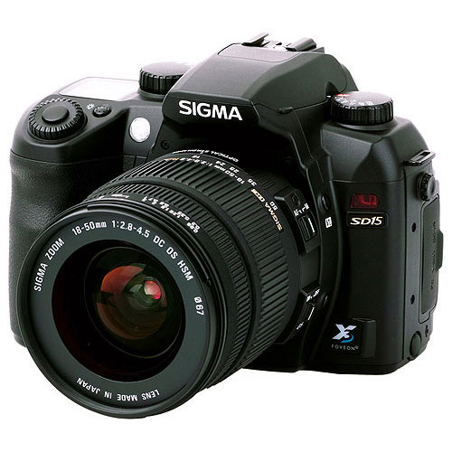 зеркальный фотоаппарат Sigma