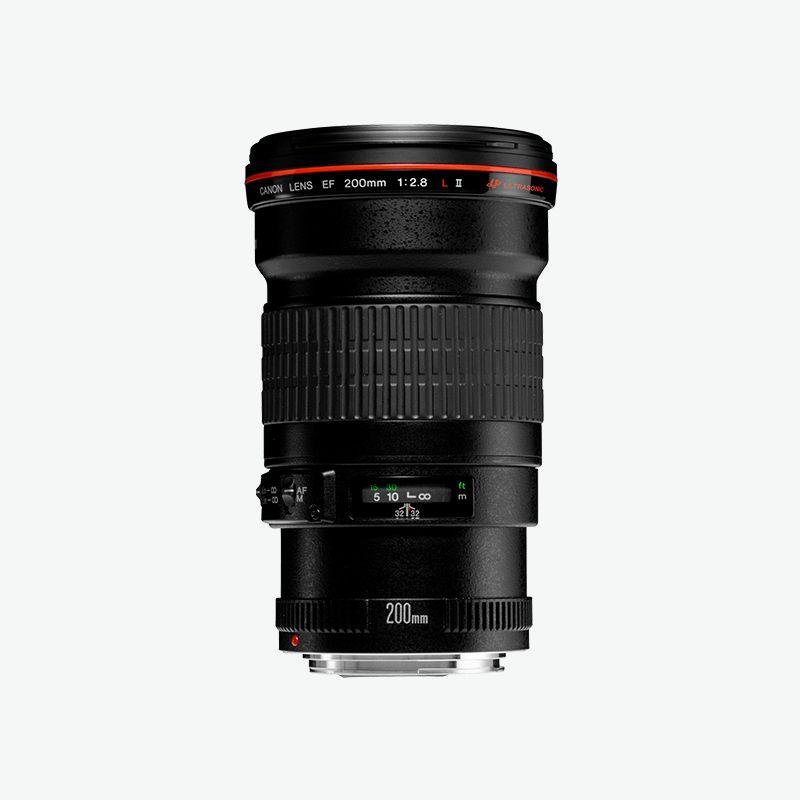 Canon EF 200mm f 2.8L II USM