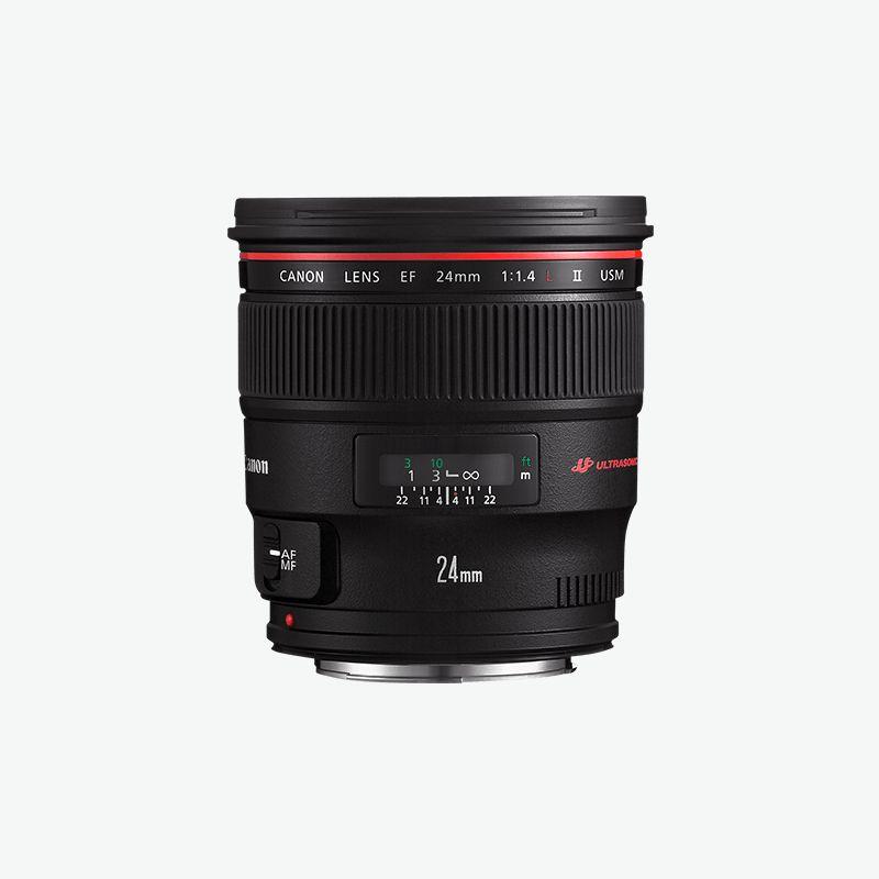 Canon EF 24mm f 1.4L II USM