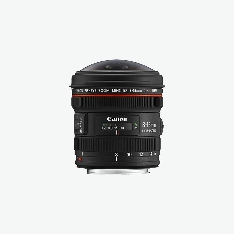 Canon EF 8-15mm f 4L Fisheye USM