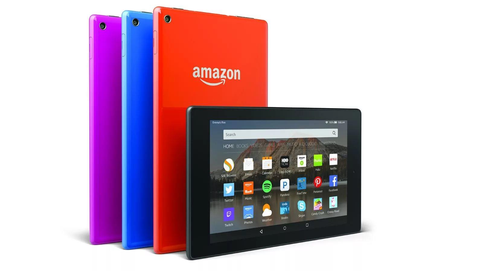 планшеты Amazon