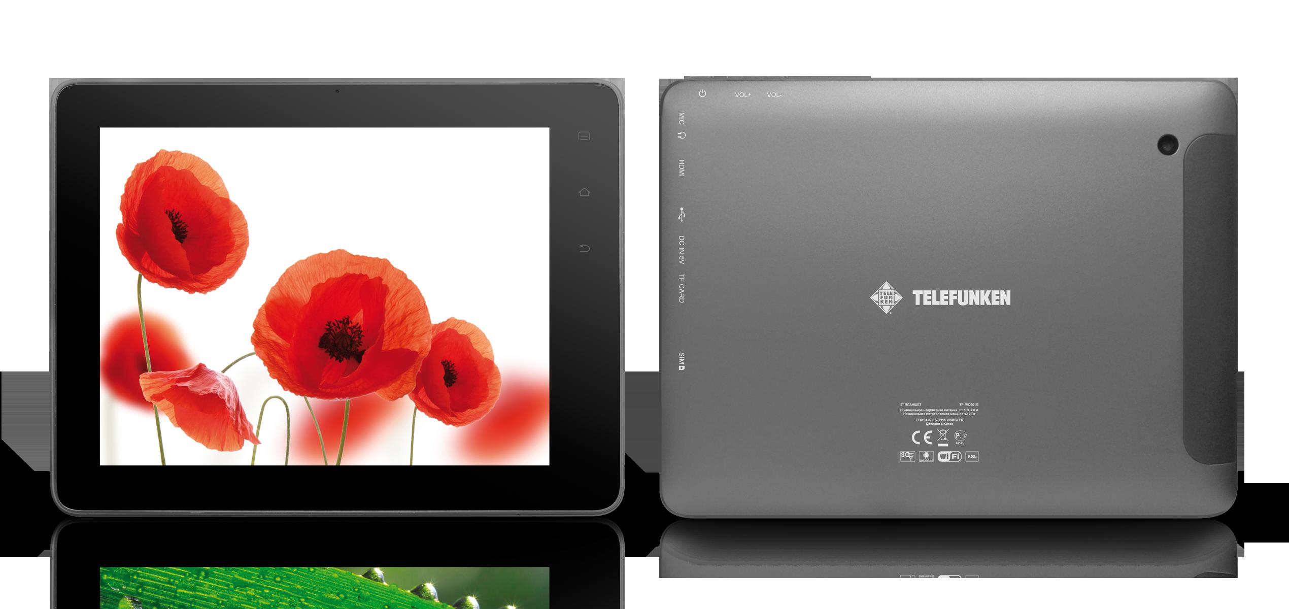 планшеты Telefunken
