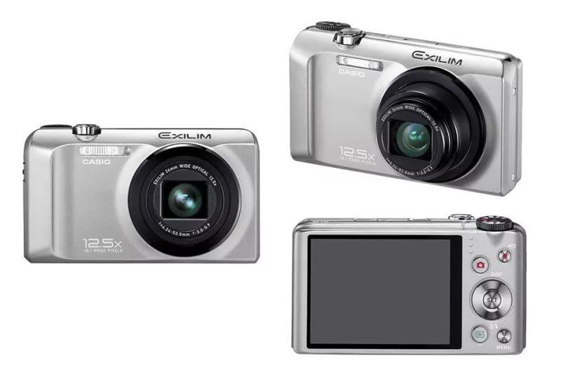 цифровые фотоаппараты Casio