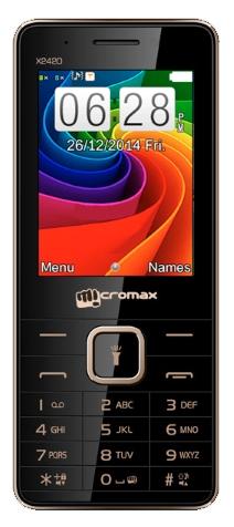 Micromax X2420