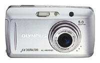 Olympus Mju 500 Digital