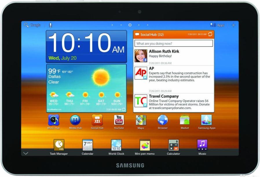 Samsung GT-P7320 Galaxy Tab 8.9