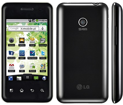 Смартфон LG E720 Optimus Chic